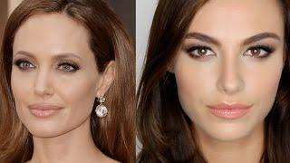 Angelina Jolie Oscars Makeup Tutorial