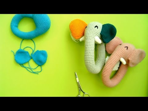 Ellie the Elephant Lovey- Free Pattern - A Purpose and A Stitch | 360x480