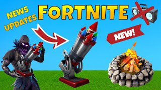 Fortnite *NEW* Bottle Rocket! Campfire Update, Earthquake Event, Leaked Skins!