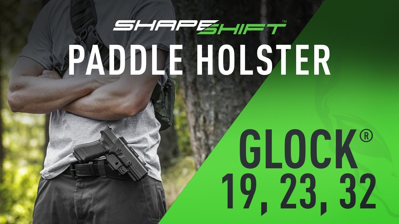 ShapeShift Glock 19, Glock 23, and 32 Paddle Holster - Alien Gear Holsters