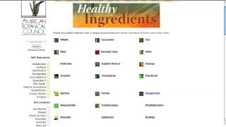 ABC Library - Healthy Ingredients