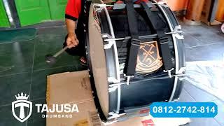 Download Mp3 Wa 08122742814   Suara Bass Drum Suporter 28 Inch Head Makstone   Tajusa Drumban