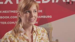 Eva Schulz im nextMedia.Studio auf der Social Media Week 2017 thumbnail