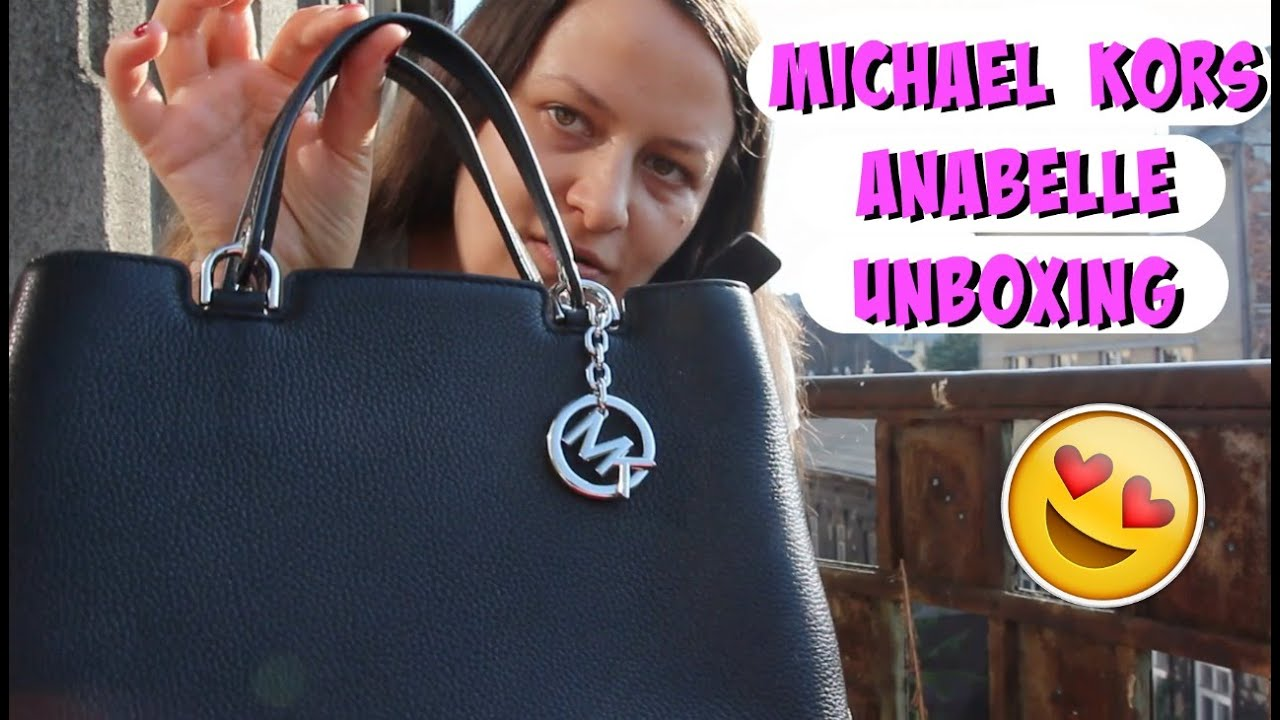 Michael Kors Anabelle Medium Black unboxing ZALANDO SALE