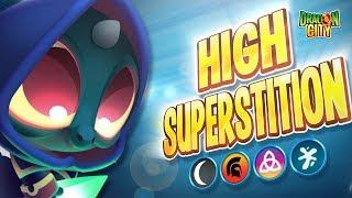The High Superstition Dragon!! Heroic Race: Black Magic - Dragon City