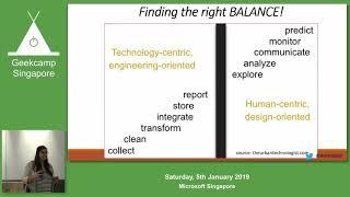 When life gives you Orange, make data speak volumes! - GeekCampSG 2019