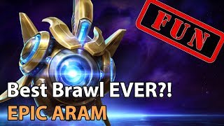 ► Heroes of the Storm: The BEST Brawl EVER? EPIC ARAM