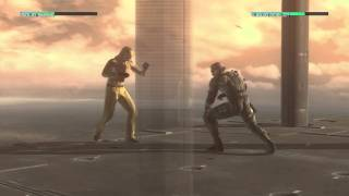 Repeat youtube video Metal Gear Solid 4 Solid Snake vs. Liquid Ocelot HD