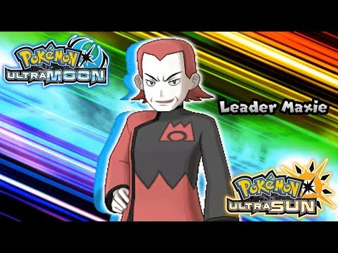 Pokemon UltraSun & UltraMoon - Vs Magma Leader Maxie (HQ)