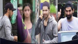 Varun Dhawan, Siddharth Malhotra, Alia Bhatt & Siddharth Roy Kapoor Spotted at Dance Rehearsal