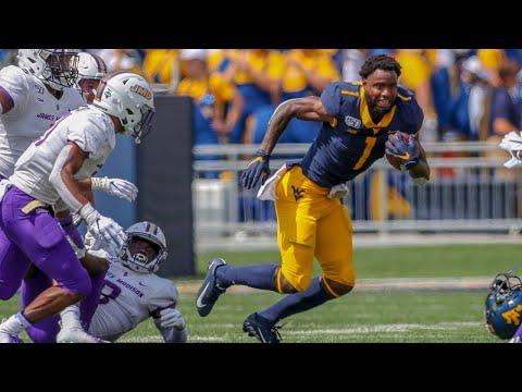 West Virginia Vs. JMU Football Highlights