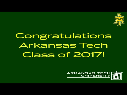 2017 Arkansas Tech Undergraduate Commencement, 2pm