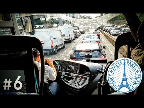 #6. India To Europe Trip Specials - Day 2 | Driving A Bus In Paris + Tour Manager Angry | #RCTravels