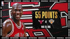 "Michael Jordan's ""Double-Nickel"" Game 