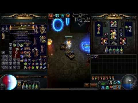 Basic Map Pool Guide And Vendor Chisel Recipe Path Of Exile Youtube