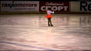 Виктория Алентьева. Юный фигурист. 4 года