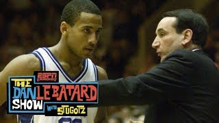 The time Coach K used a flaming spear to pump up Duke   Dan Le Batard Show With Stugotz   ESPN