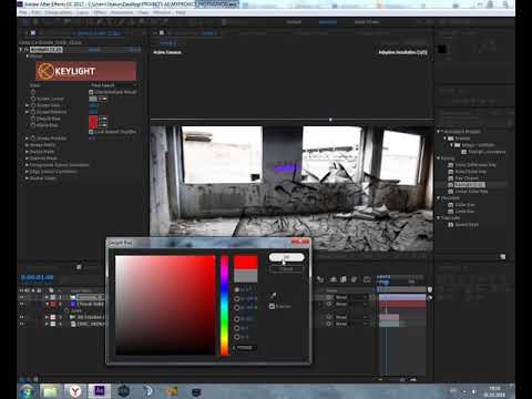 after effects 3d camera tracking + particular tutorial