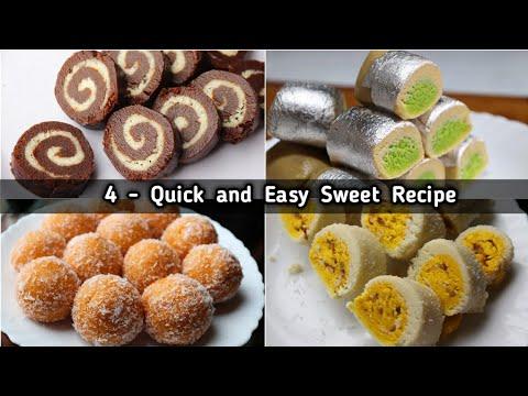 4 Quick and Easy Sweet Recipes for Raksha Bandhan | Easy Milk Dessert recipes