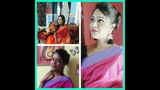 Saree Lookbook// Haul// under Rs.1000