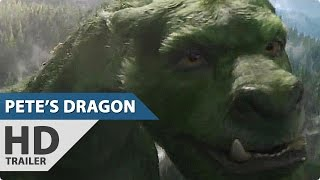 Disney's PETE'S DRAGON All Trailer + Clips (2016)