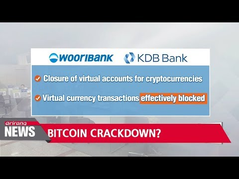 Korean banks to close accounts linked to virtual currency trading