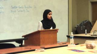 MSA Breaking Stereotypes: Moderation in Islam
