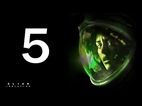 Alien Isolation Take Elevator To Seegson Communications Gameplay Part 5 (Xbox One, PS4)