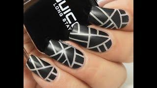 Make-up Inspired Nails DIY
