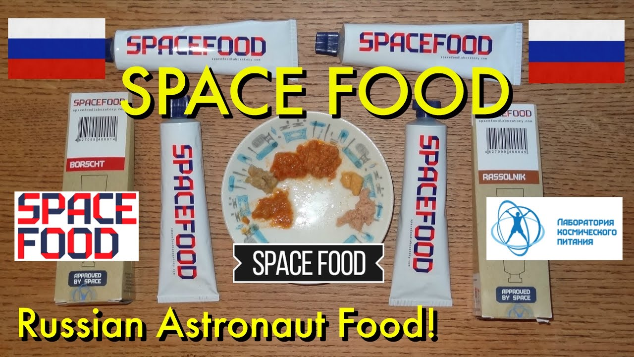 Space food in tubes 6