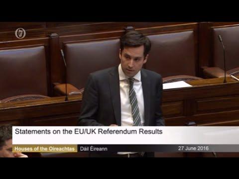 Dáil Speech on Brexit