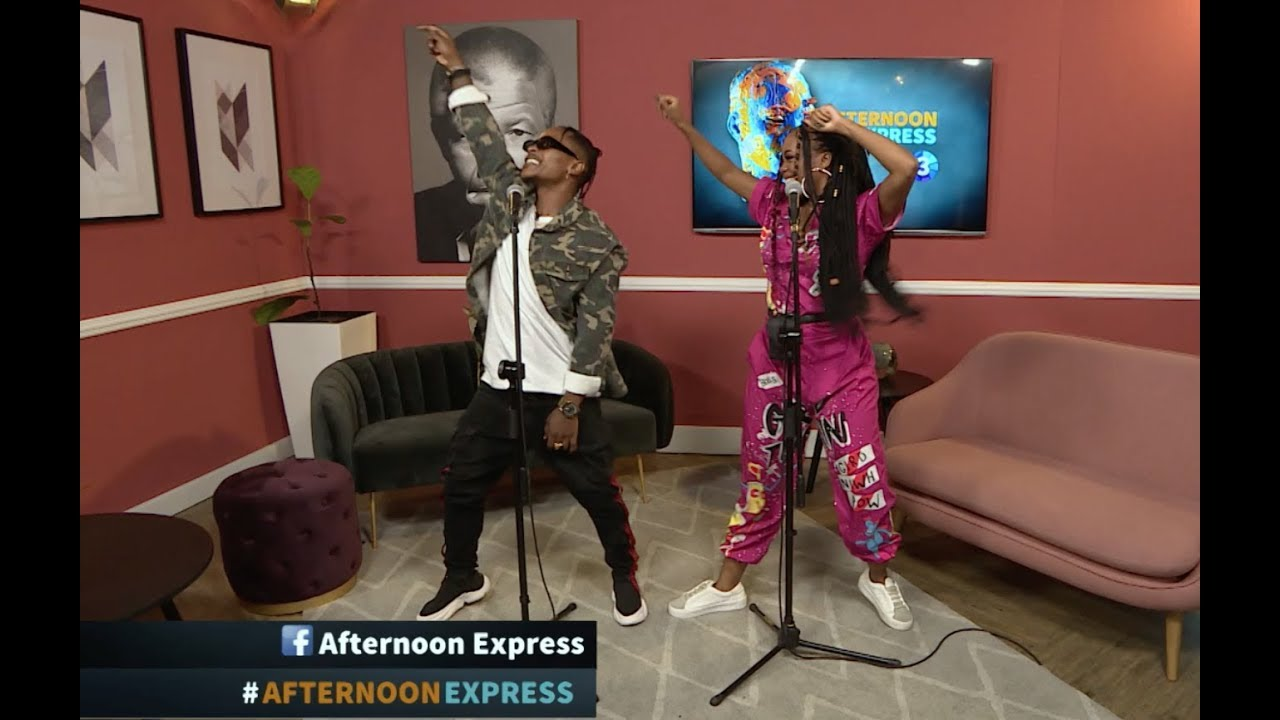 Performance by Bontle Modiselle & Priddy Ugly | Afternoon Express | 5 March  2019