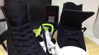 Sepatu Converse All Star CT2 Chuck Taylor II Lunarlon High Black White BNIB Original
