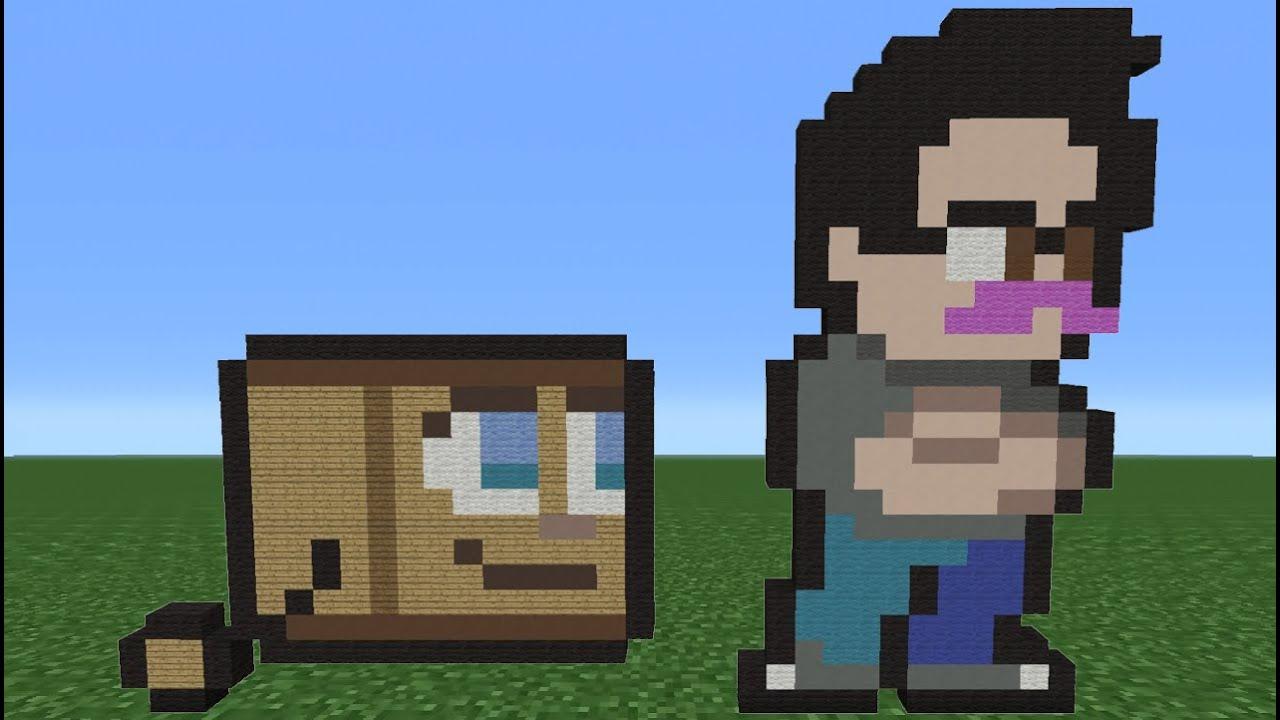Minecraft Tutorial: How To Make Markiplier (PewDiePie ...
