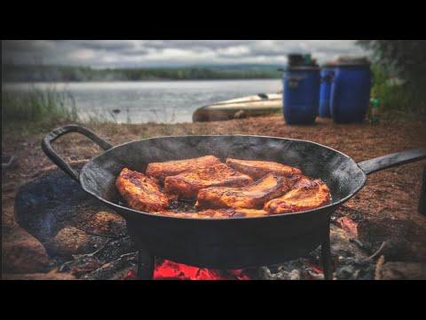 Lagersuche in Schweden und Outdoor Kochen | Kanu Tour #1