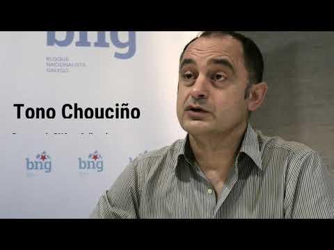 Tono Chouciño, voceiro do grupo municipal do BNG de Culleredo, e Néstor Rego, deputado do BNG no Congreso dos Deputados, fan un pequeno resumo do que pode mellorar en Culleredo grazas ás emendas ao documento orzamentario estatal para o ano 2021.