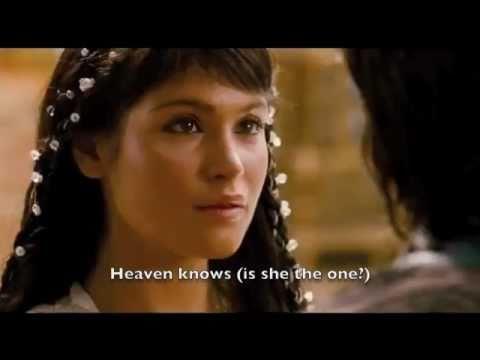 Arsi Nami (Prince of Persia) - Heaven Knows + Lyrics (Dastan & Tamina)
