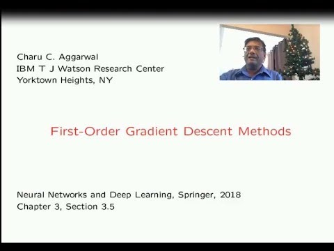 3.4 First-Order Gradient Descent Methods