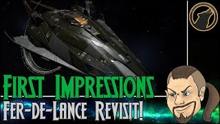 Elite: Dangerous - First Impressions: Fer-de-Lance Revisit! [Review]