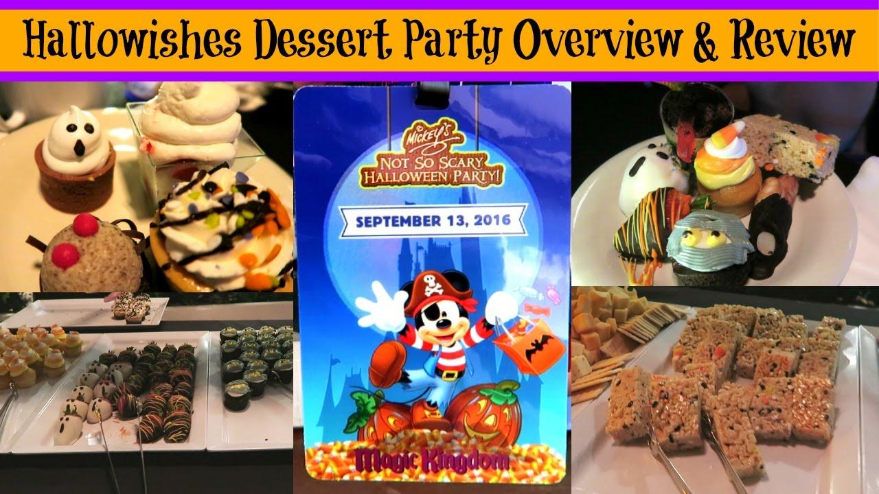 halloween wishes dessert party