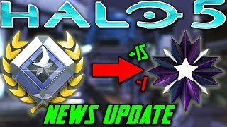 Huge Changes to Halo 5 Ranking System Now! Could Effect Halo 6 Ranking System?