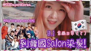 EP2 韓國生活日常? ✩ 初次到韓國髮型屋 / Wanna One 炸雞 ✩ 韓國首爾濟州22天 Korea Seoul Jeju Travel 2017 ✩ Celia [中文字幕]