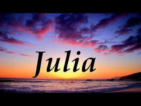 Julia, significado y origen del nombre
