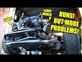 Vw Engine Runs!   More Problems   Rotten Old 1956 Vw Beetle   80