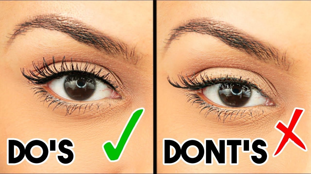 11 MISTAKES You Make When APPLYING FALSE LASHES! - TrinaDuhra