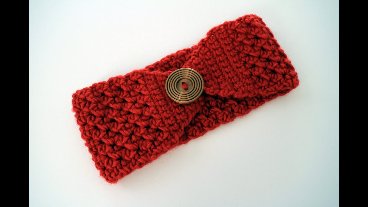 How to crochet a headband left handed youtube bankloansurffo Image collections