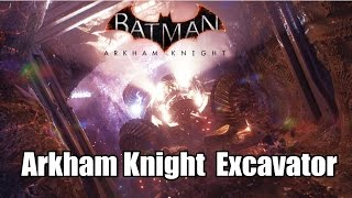 Batman Arkham Knight Find A Way Out - Excavator Tunnels