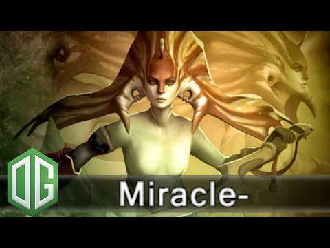 OG. Miracle- Naga Siren Gameplay - 1534 Last Hits - Unranked Match - OG Dota 2