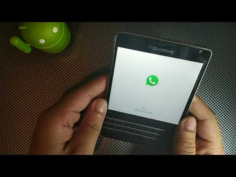 How To Get Whatsapp On The  BlackBerry Passport , Simple!