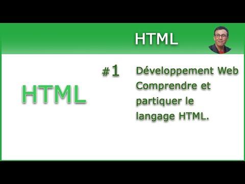 HTML Pour Les Débutants. #1